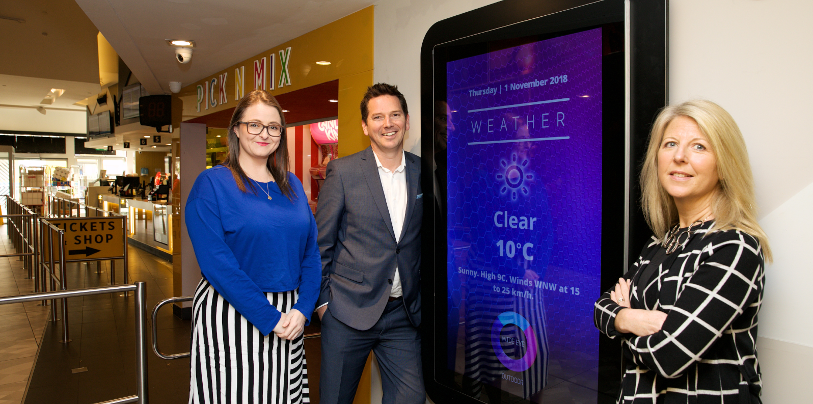 Wide Eye Outdoor Delivers Location-Based Weather Forecasts to 170 Digital Screens